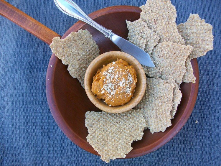 Roasted Chili Lime Yam Dip