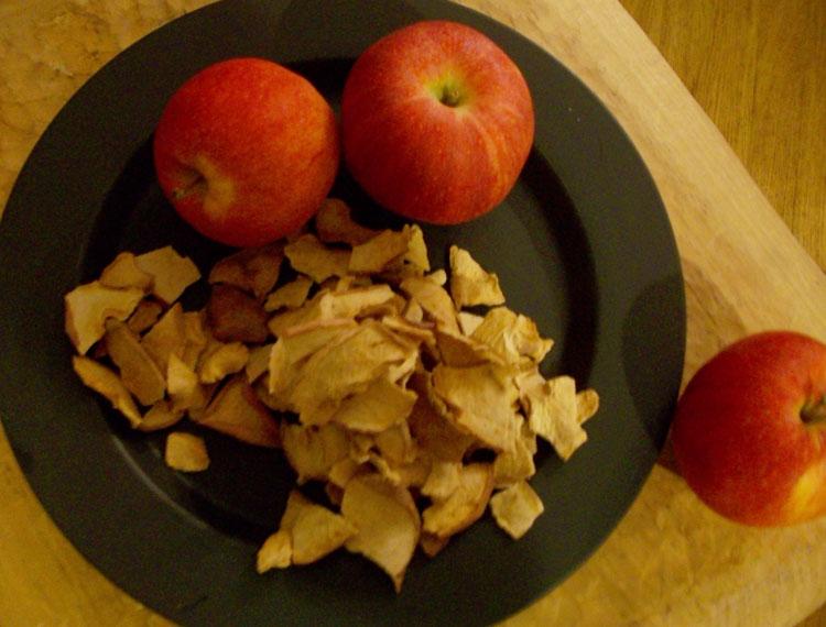 Cinnamon-Ginger Apple Chips