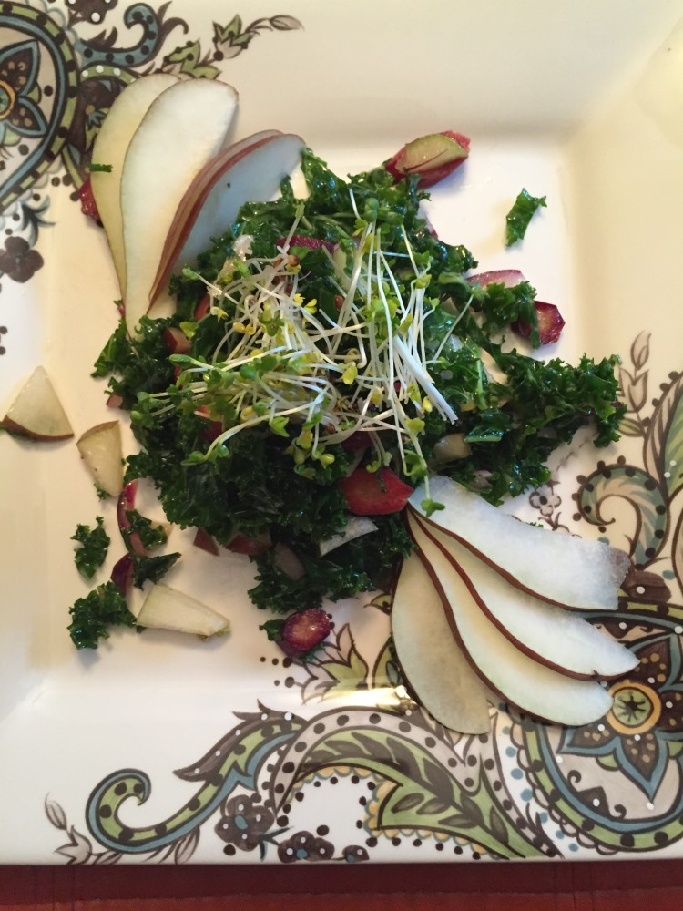 Pear & Kale Salad