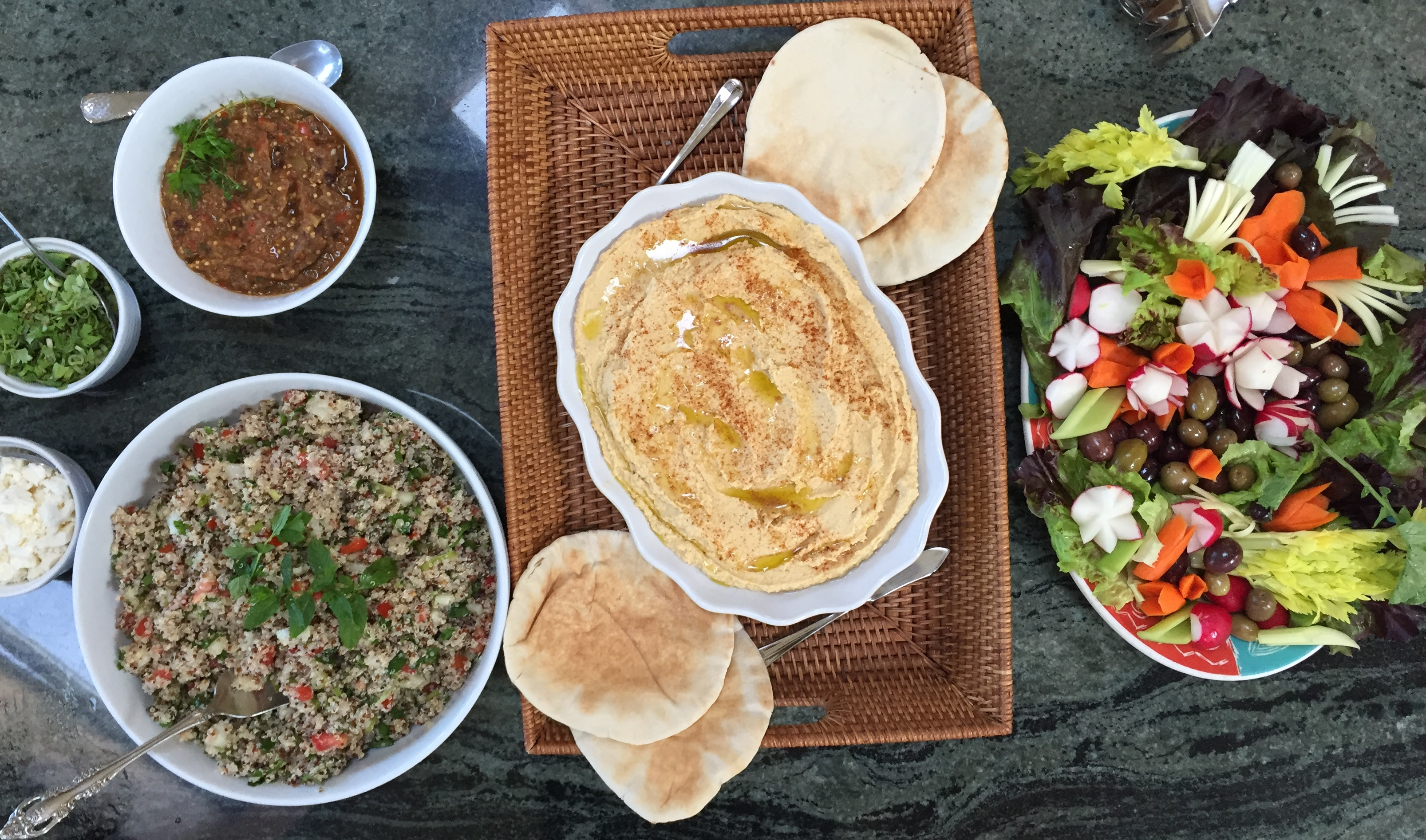 Middle Eastern Lunch
