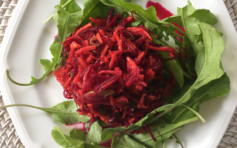 Ginger Beet & Carrot Salad