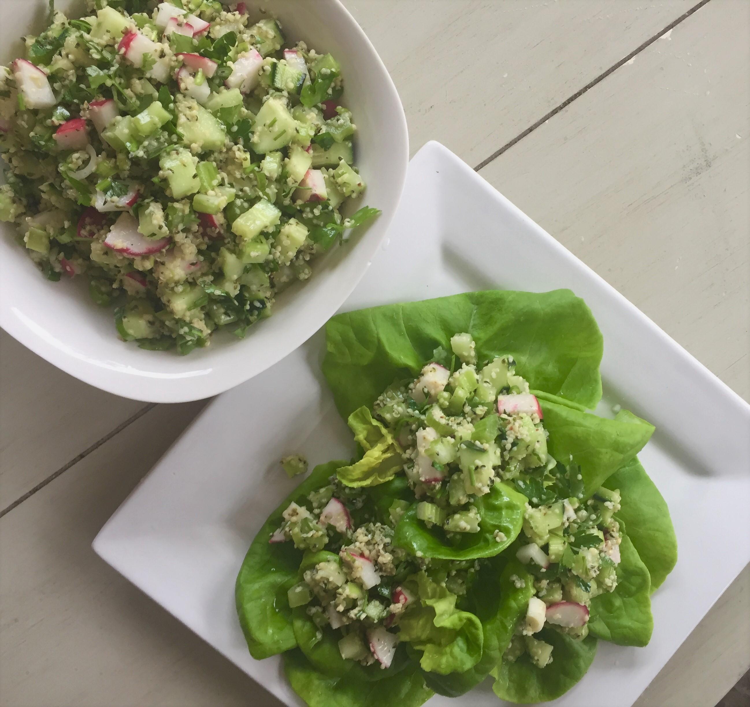 Hemp Seed Cucumber Salad A Natural Chef
